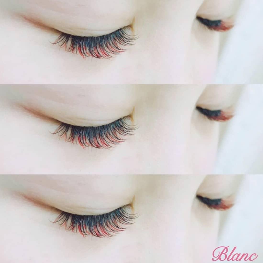 Eyelash Salon Blanc~まつげエクステと眉の専門美容室~ イオンモール福津店のお客様マツエク施術写真